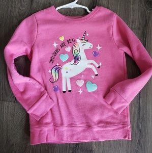 Other - Pink Unicorn Sweatshirt